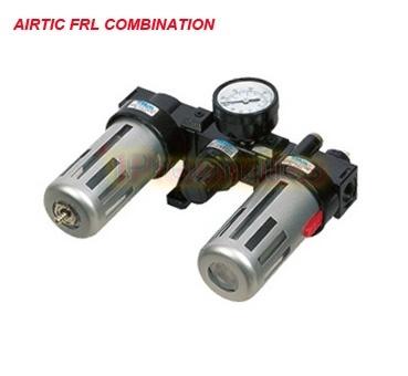Pneumatic Frl Unit Airtac Type Air Filter Regulator W Lubricator