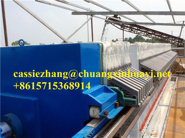 Diaphragm/Membrane Filter Press for Mining Solid Liquid Separation