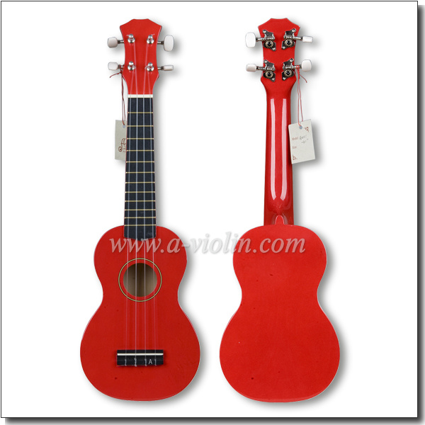 All Linden Plywood Colorful 21 Inch Wholesale Ukulele (AU01)