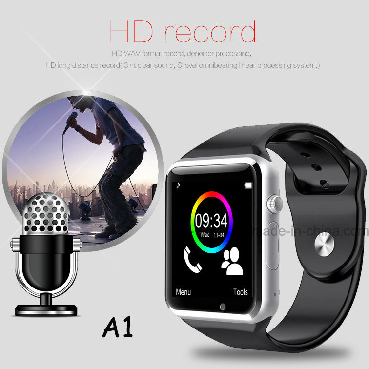 2016 Newest Bluetooth Smart Watch Phone with SIM Card Slot (A1)