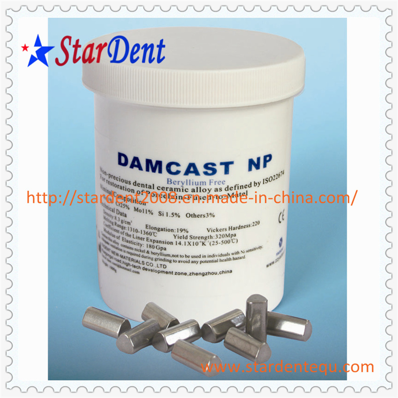 Dental Nickel Chrome with Beryllium Alloy Nb of Hospital Medical Lab Surgical Diagnostic Equipment