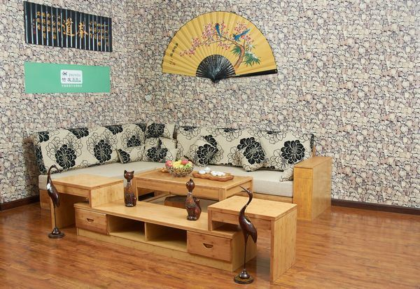 Furniture de bamb para household sofa furniture de - Muebles en bambu ...