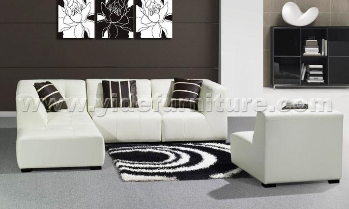 Living Room Furniture Leather Sofa China Furniture Leather Sofa