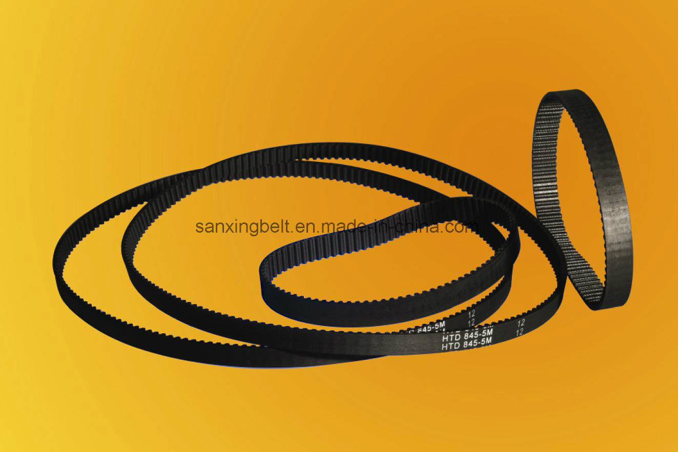 HNBR Rubber Timing Belt with High Temperature Resistant