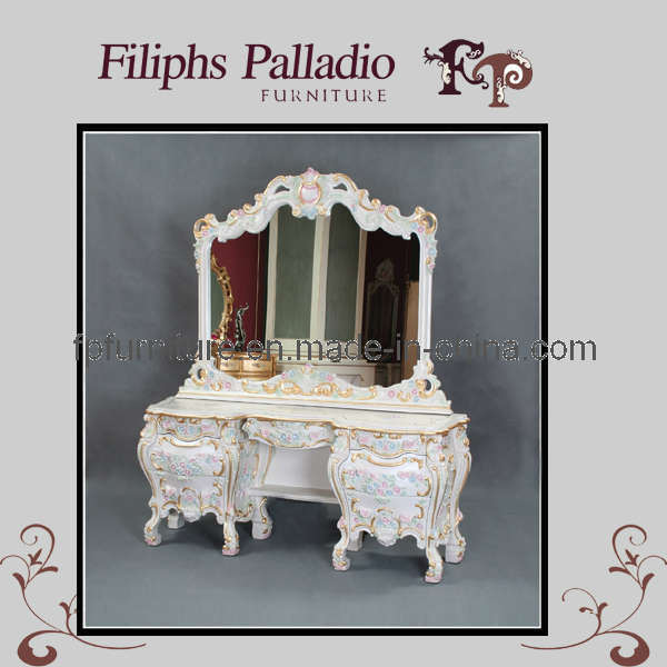 China French Provincial Bedroom Furniture French Dressing Table 0213zt China Dressing