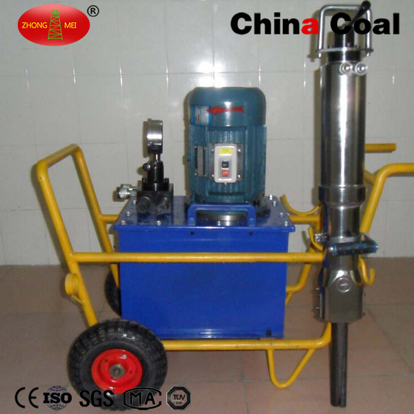 Factory Price Force Hydraulic Stone/Rock Splitter