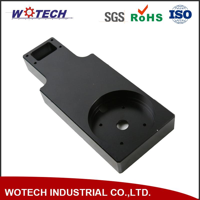 Aluminium Alloy CNC Machining with Black Anodizing