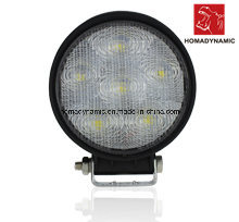 LED Car Light of LED Work Light Round Waterproof 18W Epistar Chip for SUV Car LED off Road Light and LED Driving Light
