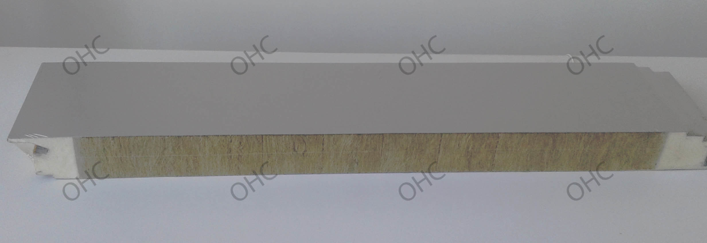 Fireproof Rockwool Sandwich Panel for Roof and Wall