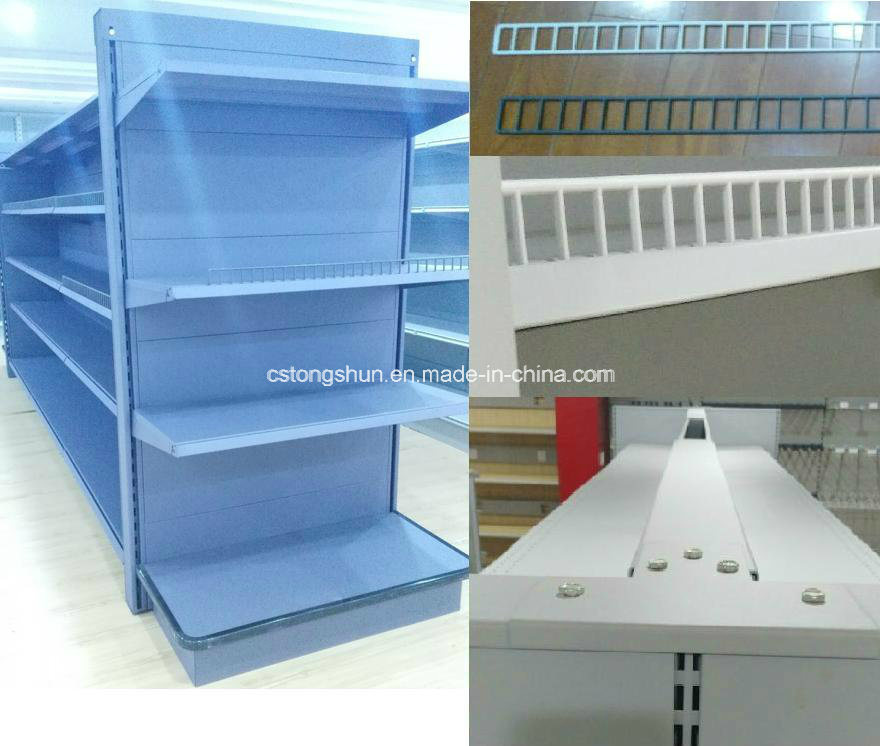 Upscale Ce Supermarket Furniture Metal Display Shelf with Competitive Price