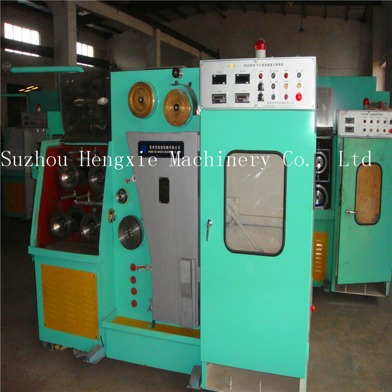 Copper Wire Drawing Machine with Annealing (HXE-22DT)