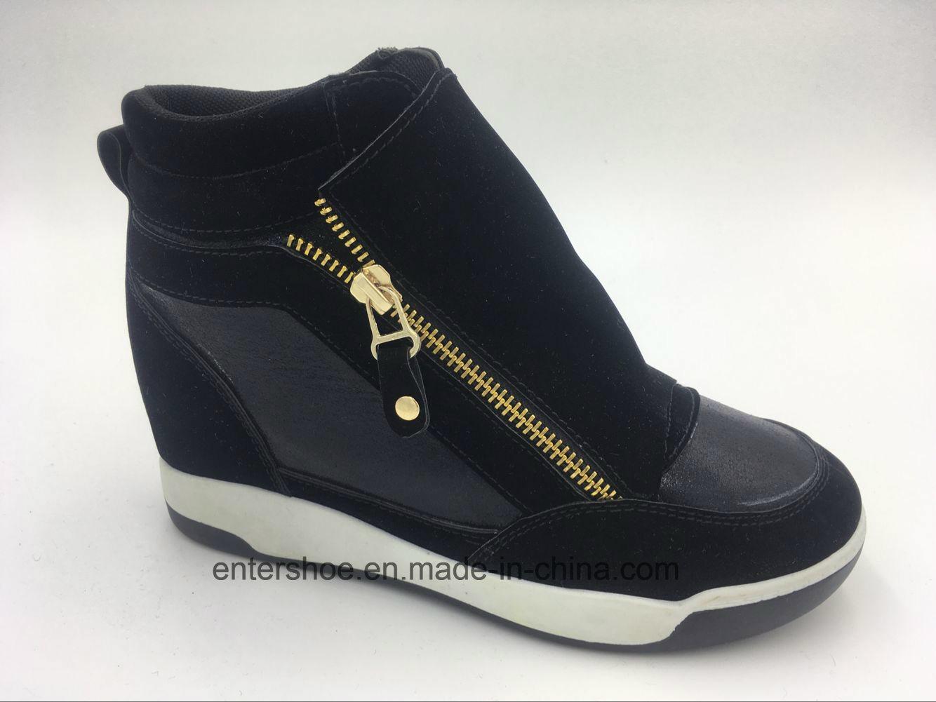 2017 New Injection Women Hidden Heel Shoes (ET-XK160219W)