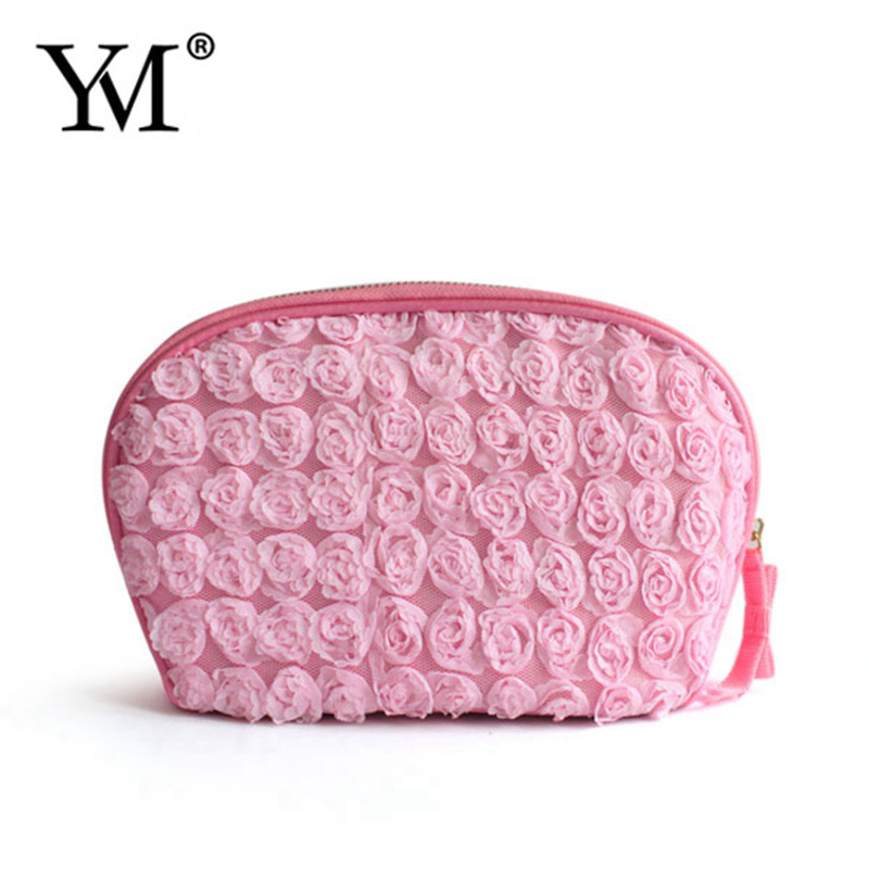 2016 New Products Good Quality Personalized Luxury Lace Beauty Bag