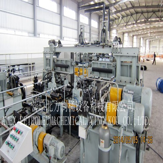 Steel Drum Seam Welding Rolling Machine