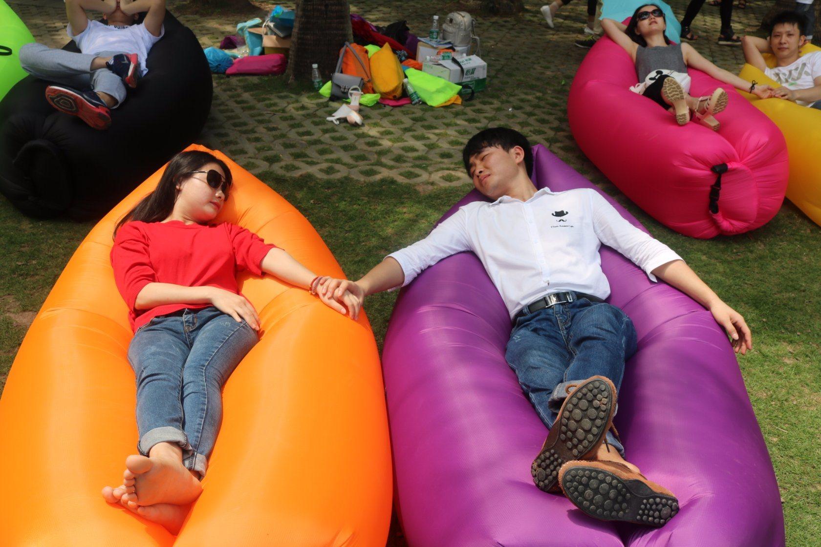 Best Sale Inflatable Air Sofa Sleeping Bag/Air Bag