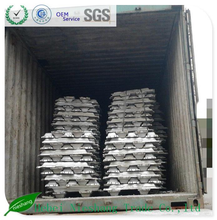 A7 Aluminium Ingot, Al Ingot 99.7% for Construction