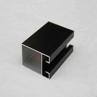 Brozen Color Aluminium Alloy Profiles Finished Powder Coating, Thermal Break, Anodizing, Silver, Golden Polishing