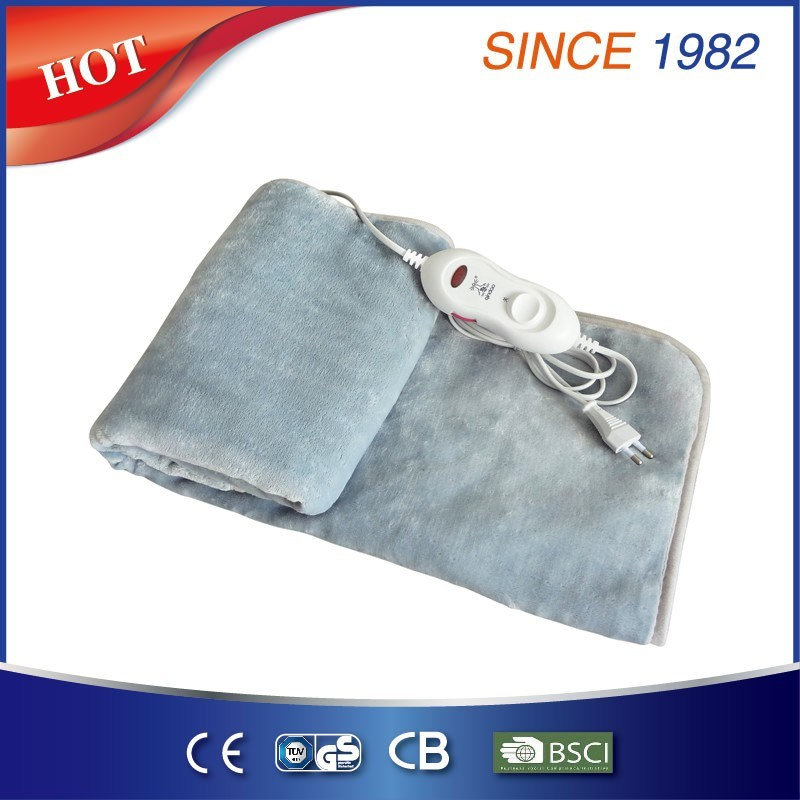 Coral Fleece Electric Blanket with Ce GS Certificate