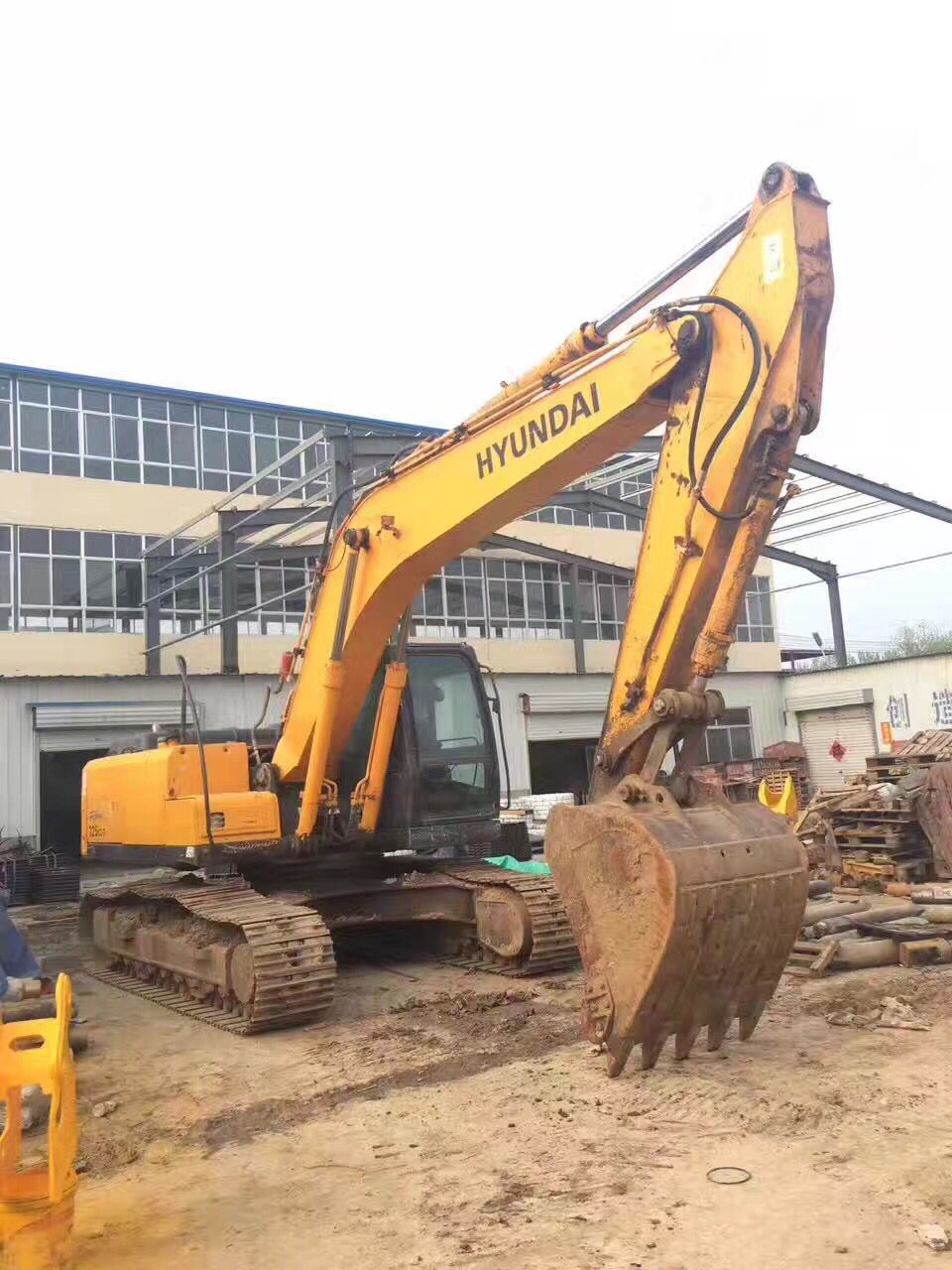 Hot Sale Hyundai Good Working Condition Used Hydraulic Crawler Excavator Hyundai R225-7 (construction equipment2011)