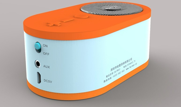 Wireless Portable Bluetooth Speaker for Car (Caps600)