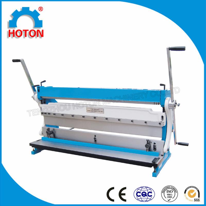 Metal Shearing Bending Rolling Combination Machine (3-IN-1/1067 3-IN-1/1016)