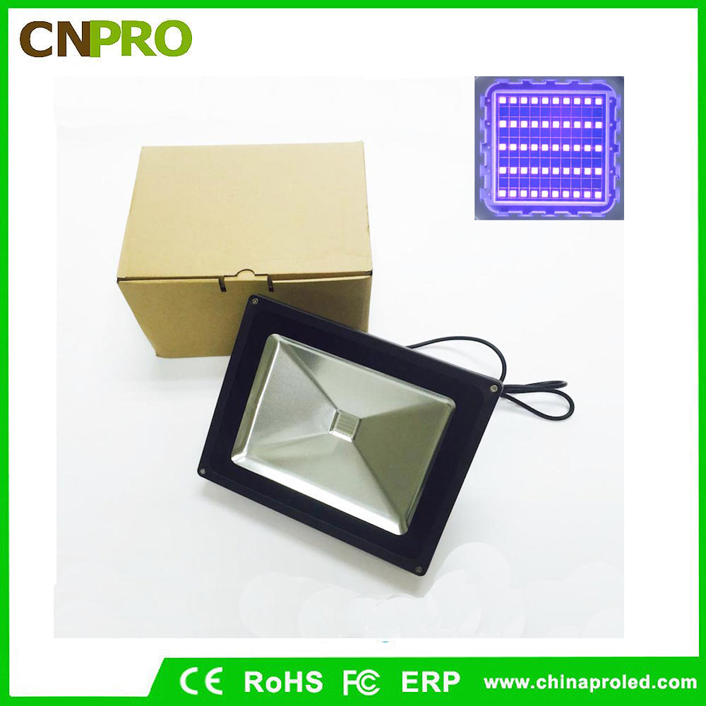 Outdoor 50W UV LED Flood Light with Die Casting Aluminum