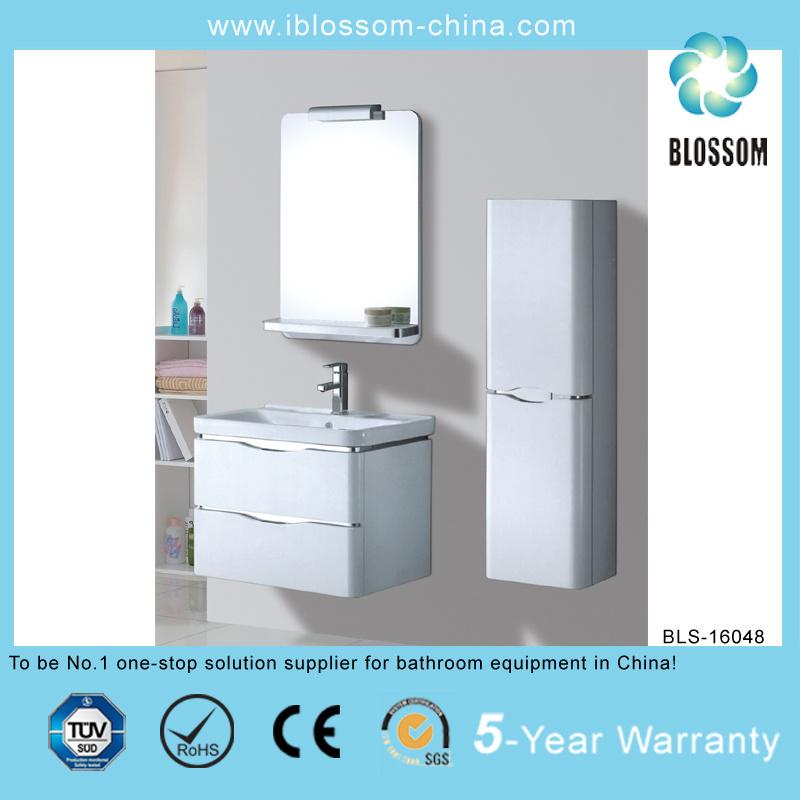 Easy Clean Beautiful Style Bathroom Vanity (BLS-16048)