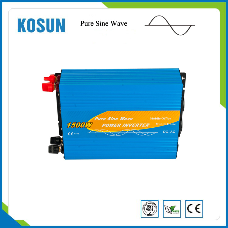 ISO9001 New Model 12V 110V off Grid 1500W Power Inverters