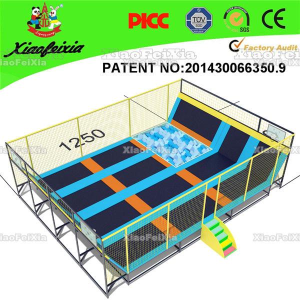 Popular 12ft Big Folding Trampoline