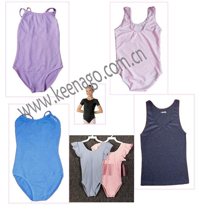 Baby Clothes Girl′s Tank Leotard Dancewear/Tight Leotard for OEM