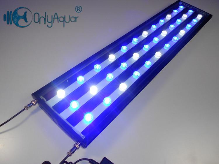 108W 90cm Brigdelux LED Aquarium Light for Coral Reef