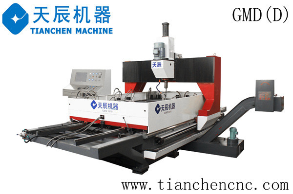 Dual-Worktable Gantry Movable CNC Drilling Machine for Plates (GMD1610D/GMD3016D)