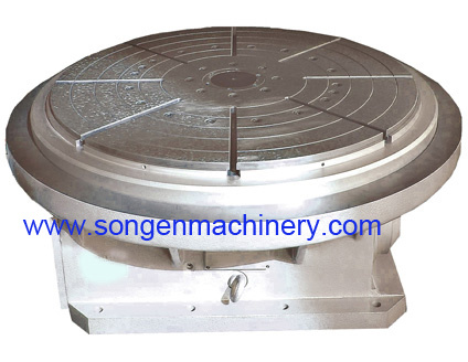 Nc Controlled Oil Slot Rotary Table
