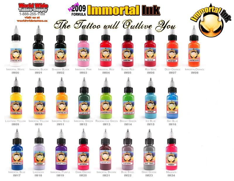 Wholesale - Starbrite Tattoo Ink Kit 14 Color 1OZ.