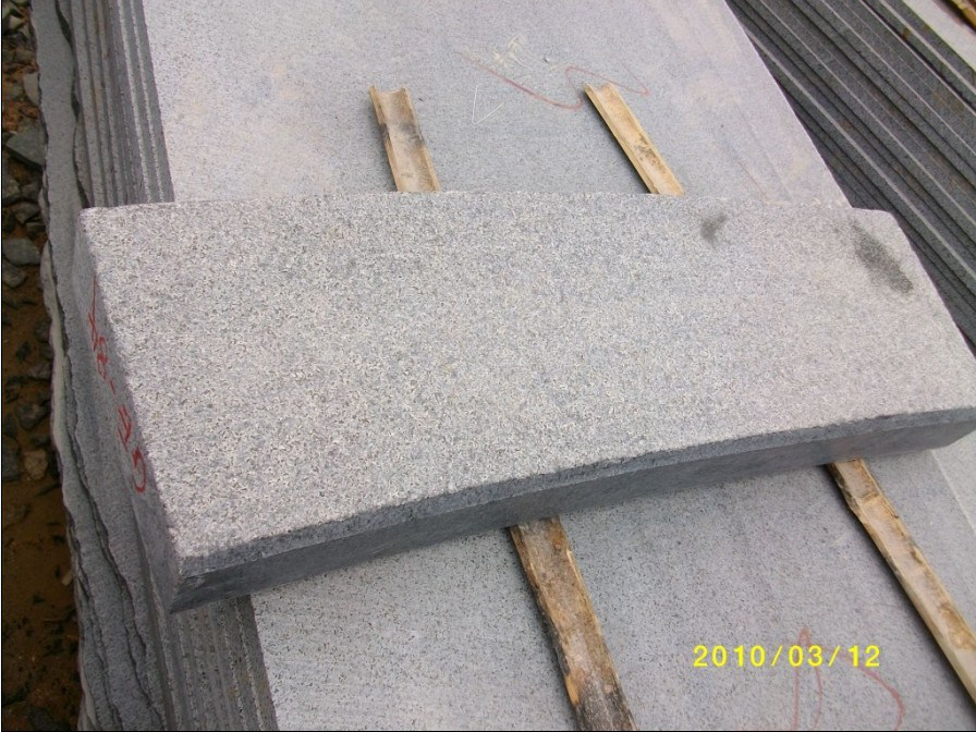 Granite Kerbstone Flamed Surface China Granite