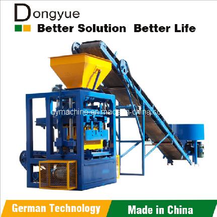 Sand Block Making Machine, Sand Block Making Machinery, Sand Block Molding Machines Qt4-24 Dongyue