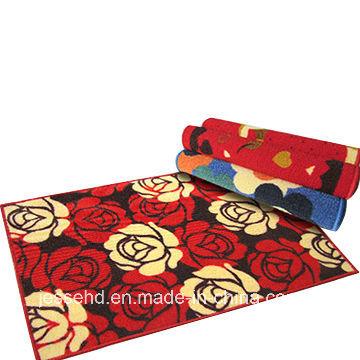 Loop Pile Printed Carpet Latex Backing Door Mat