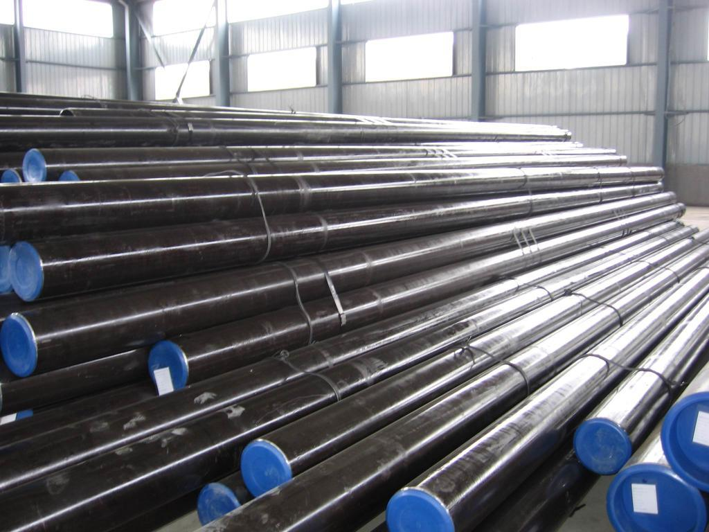 China carbon steel pipes st