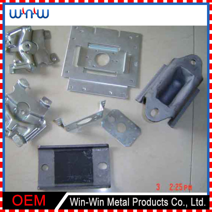 Perforated Electric Control Laser Cut Stamping Sheet Metal Panel