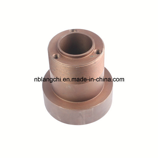 Trapezoidal Thread Standard Cast Iron Steel Round Flanged Nuts
