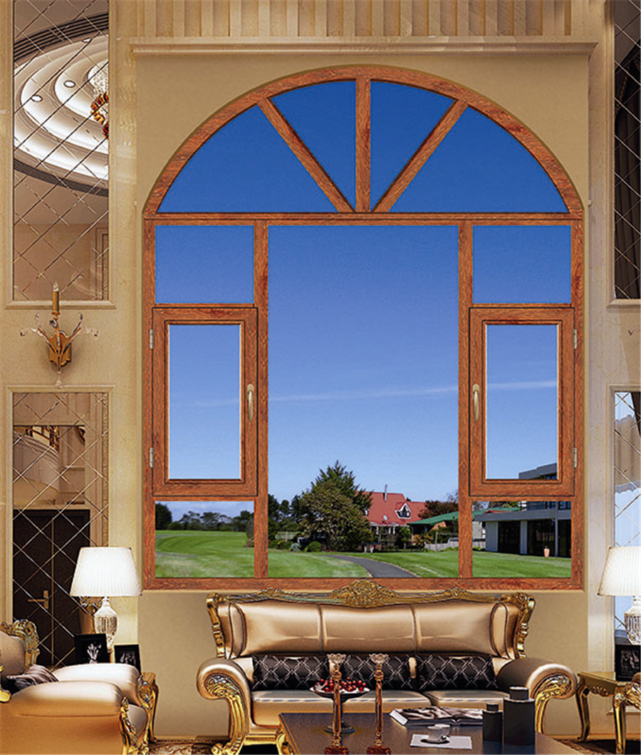 Thermal Break Heat and Sound Insulation Aluminium Window