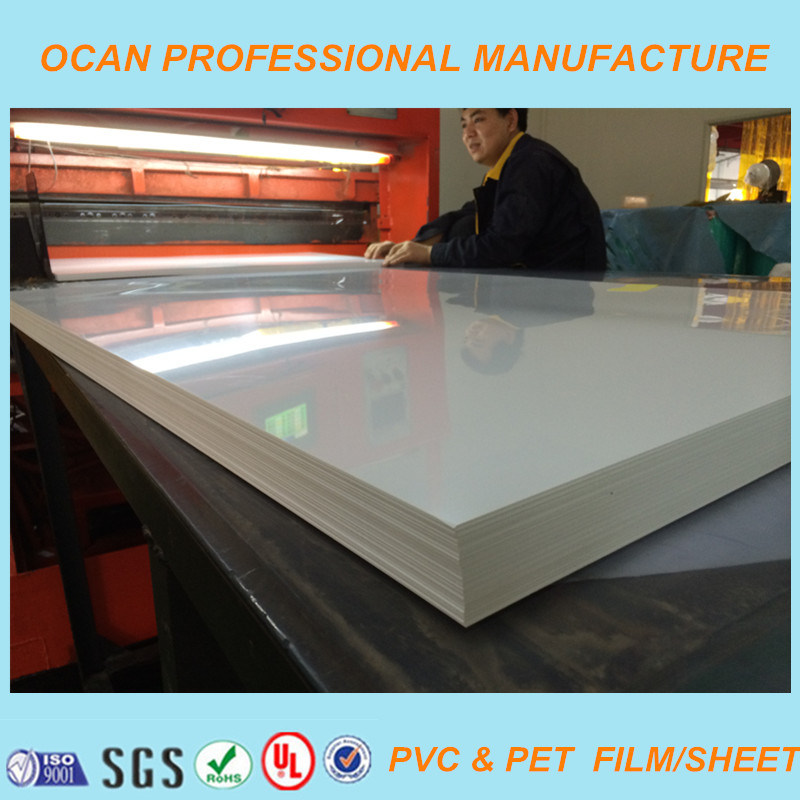 1220*2440 mm Super Clear PVC Sheet with Protective Film