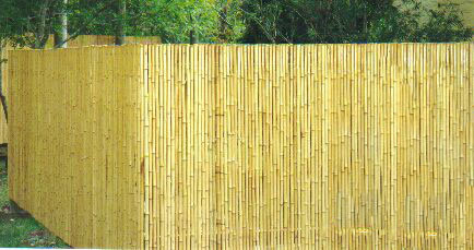 Wholesale Wood Plastic Garden Fence Bamboo