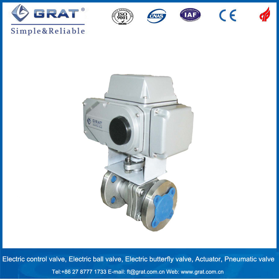 Stainless Steel Electric Motorized Ball Valve
