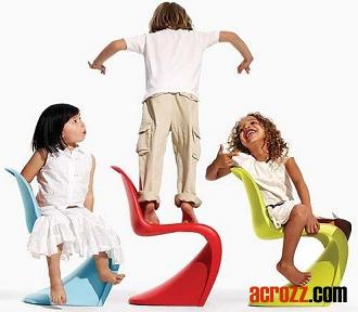 Vitra Stackable Kids Children Baby S Panton Pantone Junior Chair