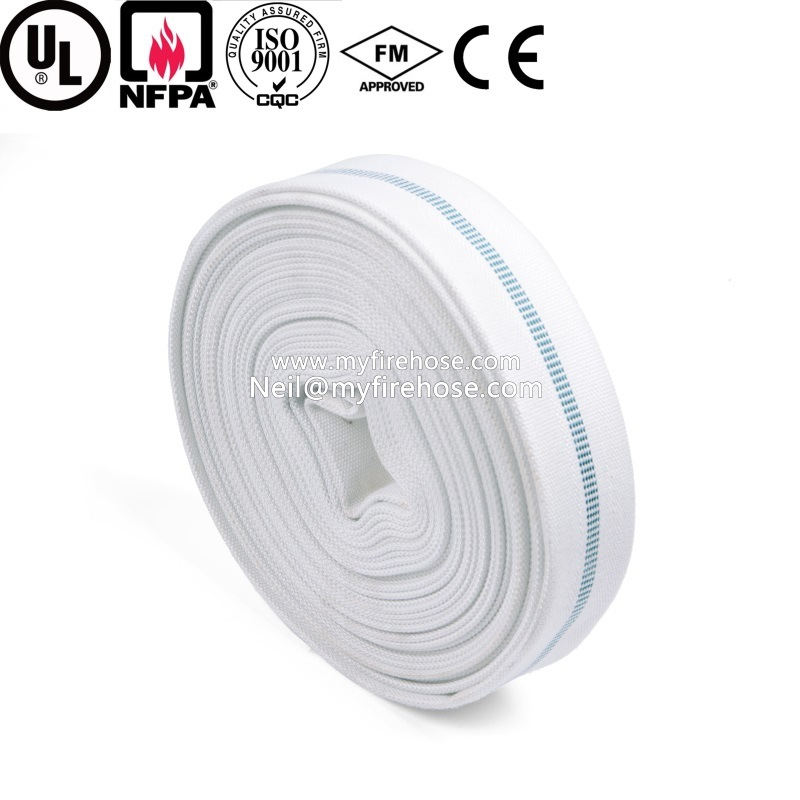 2 Inch PVC/NBR Canvas Flexible Fire Hydrant Water Hose