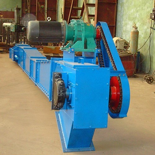Round Link Drag Chain Scraper Conveyor