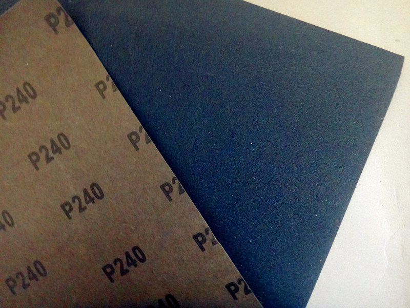 Waterproof Silicon Carbide Latex Abrasive Paper /Sandpaper FM58 120#