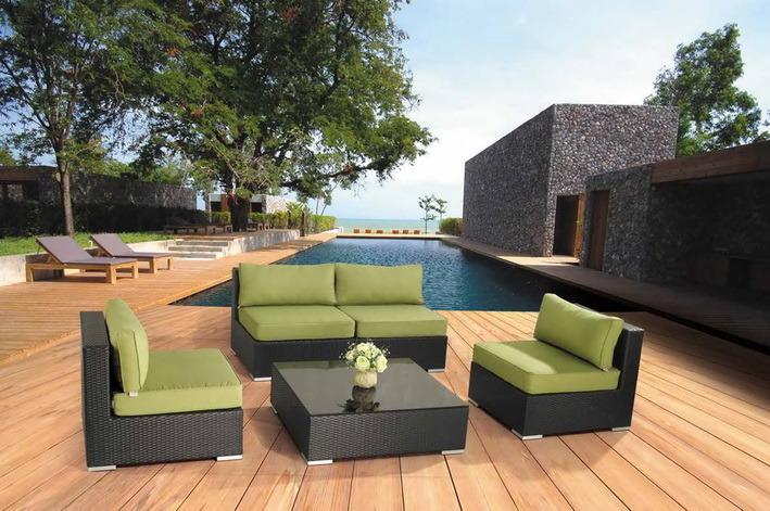 Elegant and Popular Patio Rattan Wicker Furniture