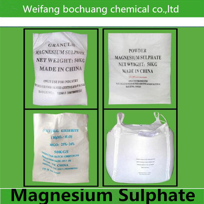 Manufacturer Supply Top Quality Chemical Magnesium Sulfate